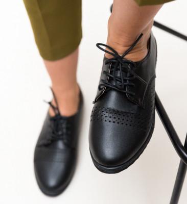 Pantofi Casual Indi Negri