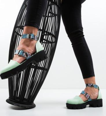 Pantofi Casual Jailala Verzi