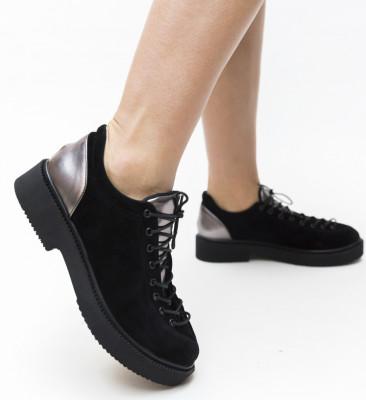Pantofi Casual Janos Gri 2