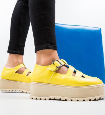 Pantofi Casual Karagam Galbeni