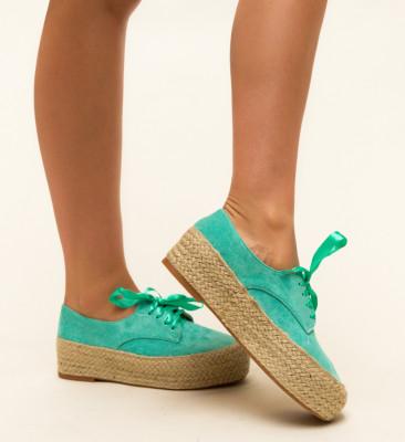 Pantofi Casual Kiran Turcoaz