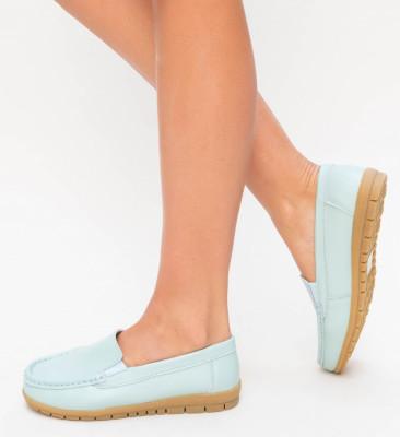 Pantofi Casual Kives Albastri 2