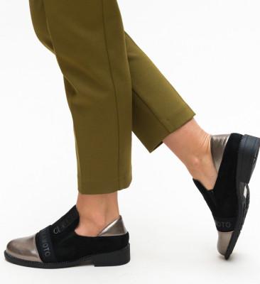 Pantofi Casual Kornelio Gri