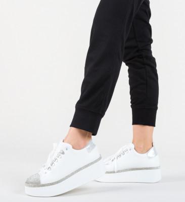 Pantofi Casual Monarhi Albi