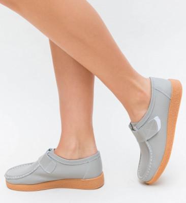 Pantofi Casual Monta Gri