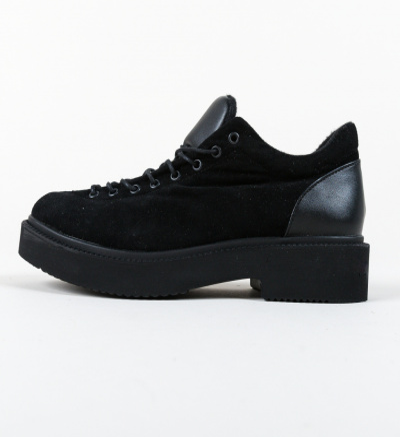 Pantofi Casual Neave Negri 5