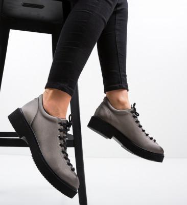 Pantofi Casual Neavio Gri