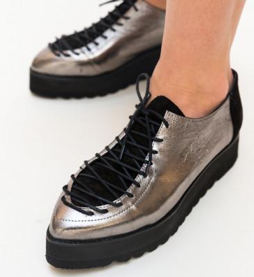 Pantofi Casual Palermo Argintii