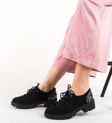 Pantofi Casual Rees Negri
