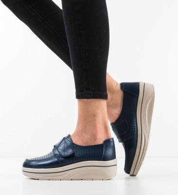 Pantofi Casual Rezolito Bleumarin