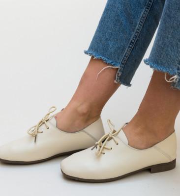 Pantofi Casual Rufita Bej