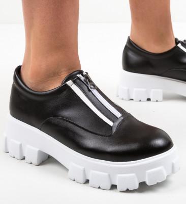Pantofi Casual Sylas Negri 2