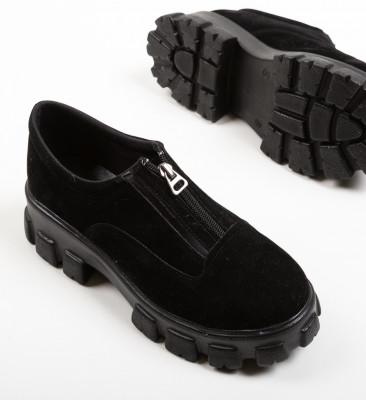 Pantofi Casual Sylas Negri 3
