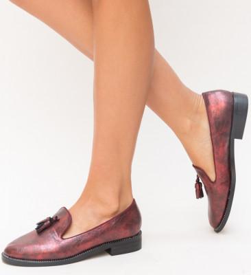 Pantofi Casual Velina Grena