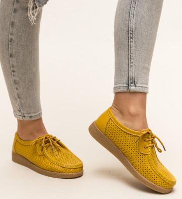 Pantofi Casual Yorker Galbeni