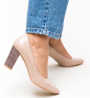 Pantofi Chen Nude