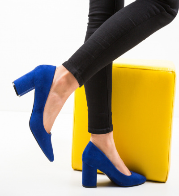 Pantofi Cilio Albastri