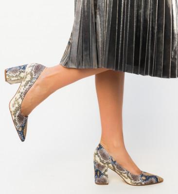 Pantofi Codill Bej