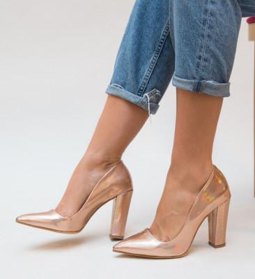 Pantofi Dekor Roz