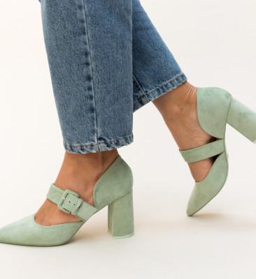 Pantofi Dionne Verzi