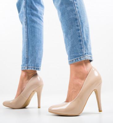 Pantofi Dopo Bej