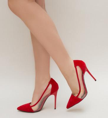 Pantofi Duck Rosii