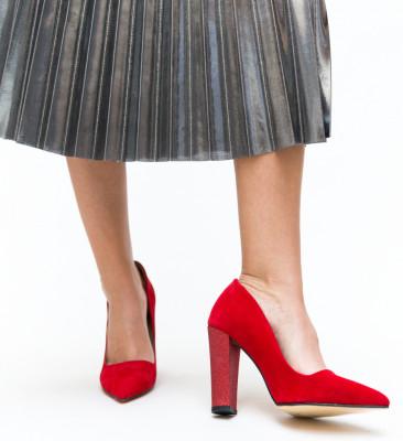 Pantofi Eldan Rosii