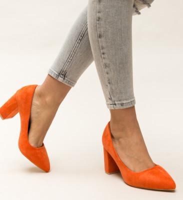 Pantofi Faulker Portocalii