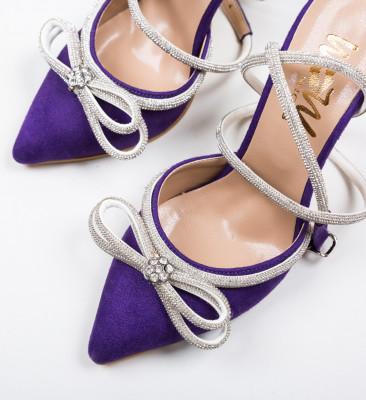 Pantofi Ferar Mov
