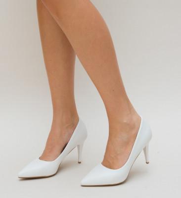 Pantofi Gomy Albi