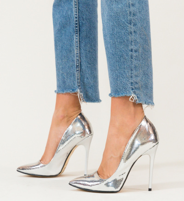 Pantofi Haribo Argintii