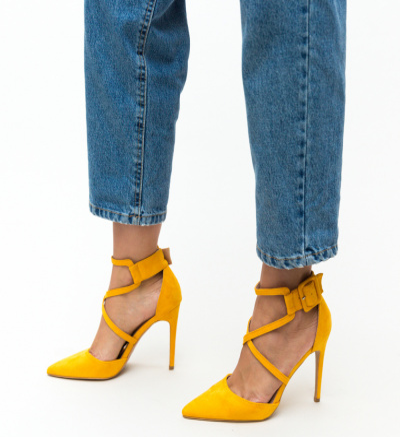 Pantofi Hebe Galbeni