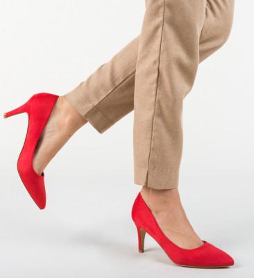 Pantofi Hipor Rosii