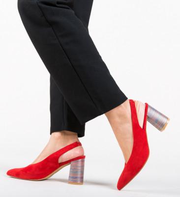 Pantofi Iwan Rosii
