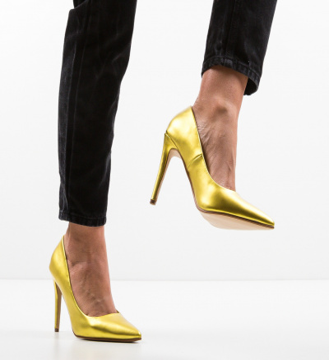 Pantofi Kaci Galbeni