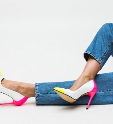 Pantofi Madino Albi