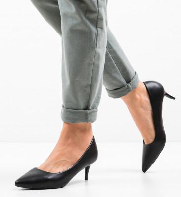Pantofi Magu Negri