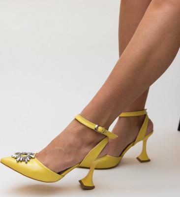 Pantofi Manon Galbeni