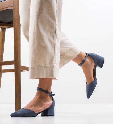 Pantofi Mildred Albastri