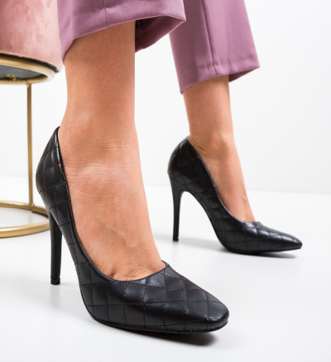Pantofi Moba Negri