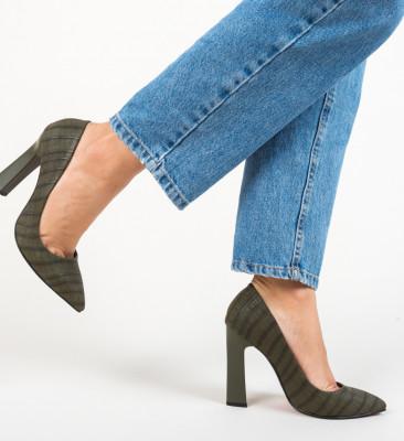 Pantofi Morlon Verzi 2