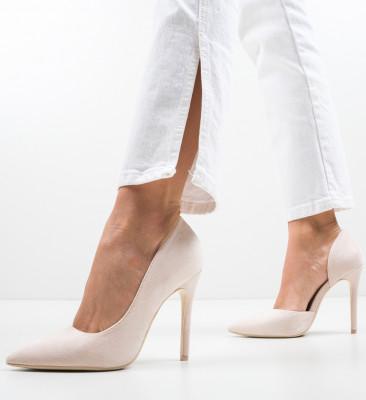 Pantofi Moses Bej