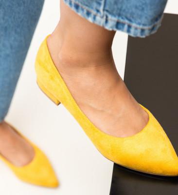 Pantofi Niam Galbeni