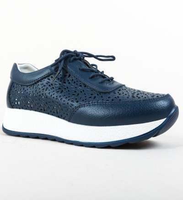 Pantofi Olsen Bleumarin