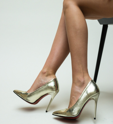 Pantofi Pideos Aurii