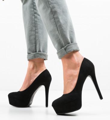 Pantofi Pitt Negri