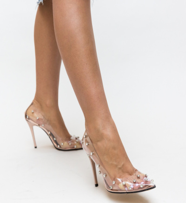 Pantofi Sabin Aurii 2