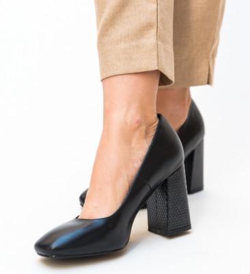 Pantofi Salt Negri