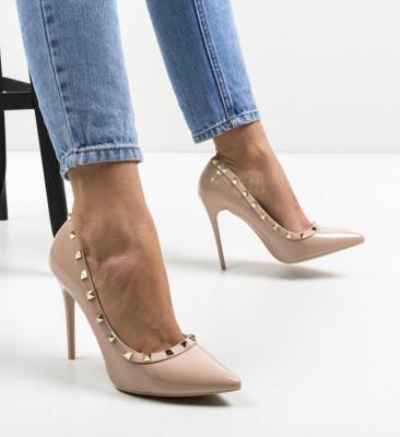 Pantofi Sava Nude