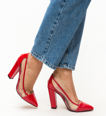 Pantofi Seneha Rosii